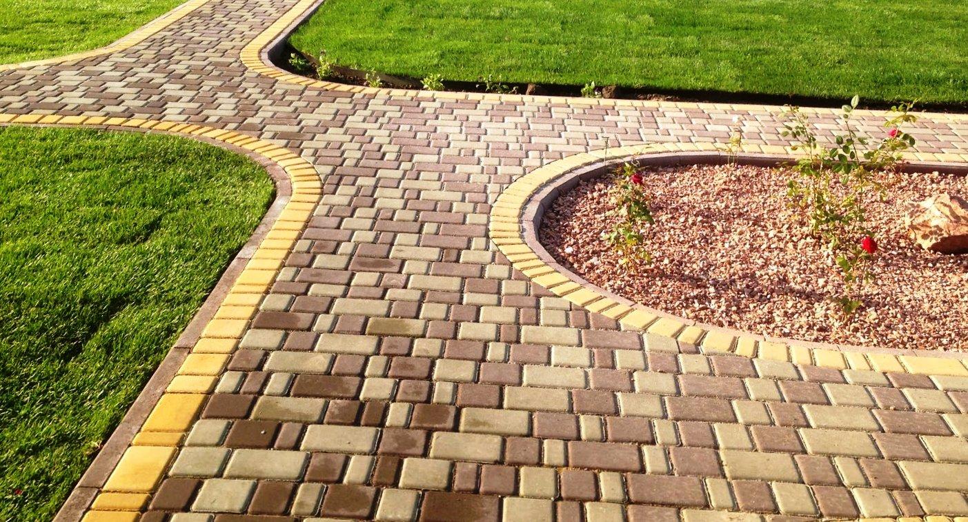 Дизайн тротуаров из плитки